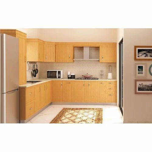 L Wooden Modular Kitchen Manufacturer: Modular Wooden Kitchen Manufacturer From