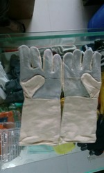 Leather Cotton Fast Finger Gloves
