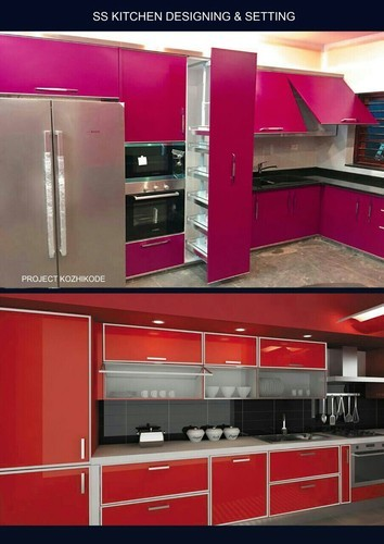 Modular Kitchen Setting In Kozhikode By