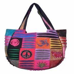 Embroidered Nepali Shoulder Bag