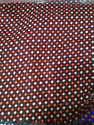 Red Dotted Woolen Fabric