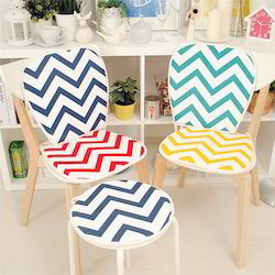 Chevron Printed Chair Pad