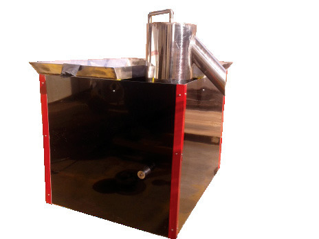Semi-Automatic Zap - Waste Dewaterer and Shredder