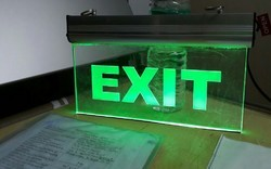 Led Exit Sign Board
