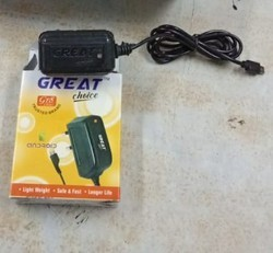 Black Mobile Charger