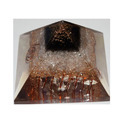 Orgone Pyramid with Crystal Yellow Aventurine