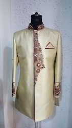 Indo Western Suit - Gold
