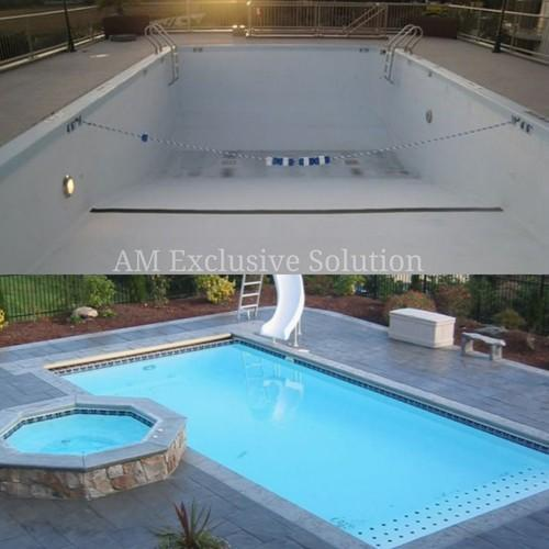 Epoxy Swimming Pool Coating Services, Roller & Spray | ID ...