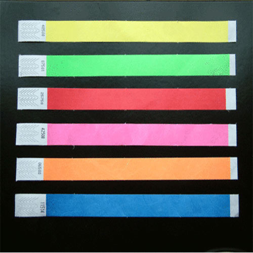 graphic regarding Tyvek Wristbands Printable referred to as Paper Wristband Template Printable Free of charge