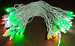 Multi Color LED Light Hand Made