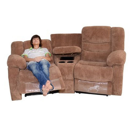 Astonishing Home Theater Recliner Sofa Pabps2019 Chair Design Images Pabps2019Com