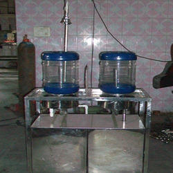40 Ltr Automatic Jar Rinsing Filling Capping Machine