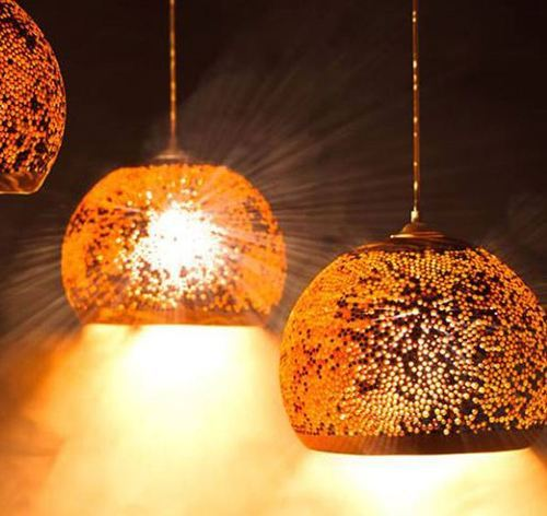 extraordinary hanging pendant fascinating light modern lights copper ceiling