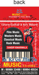 Electric Guitar Tuition Classes