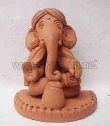 Decorative Laddu Ganesha Statue