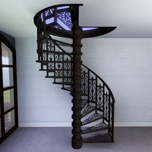 Charmant SS Spiral Staircase