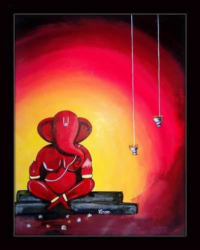 Shree Ganesh Painting