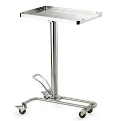 Height Adjustable Mayo Trolley