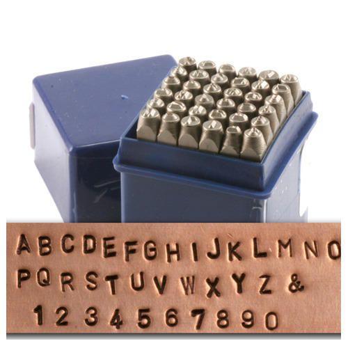 Metal Alphabet Stamping Set
