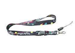 Lucky Plastics Multi Color Neck Lanyard (Dye Sublimation) without Fitting