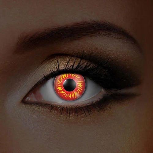 Fire Eye Fashion Contact Lenses