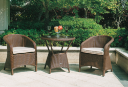 Natural Rattan Style Outdoor Wicker Coffee Set