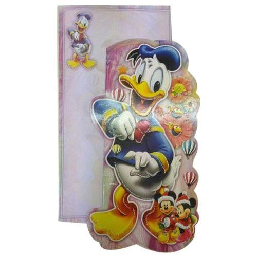Birthday Card Manufacturer from Kolkata – Donald Duck Birthday Card