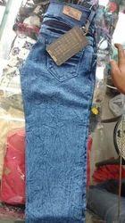 N9 blue black white Ladies Jeans