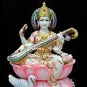 Maa Saraswati Marble Moorti