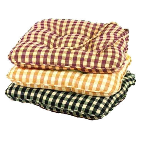 Available In Various Colors Cotton Kitchen Chair Pads