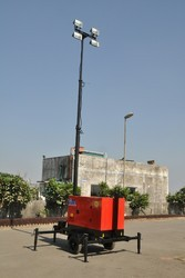 Mobile Lighting Tower Trolley