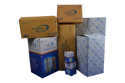 Printed Corrugated Boxes For: Industrial Product Packing