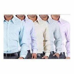 Mafatlal Collar Neck Mens Formal Shirts