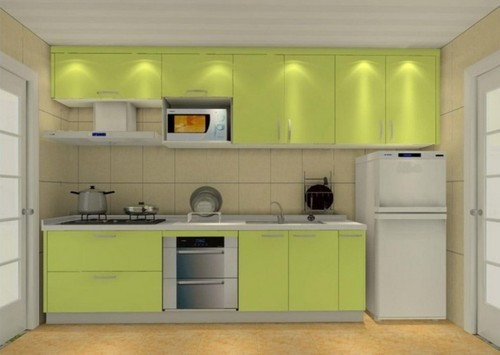 Simple Interior Decoration Kitchen