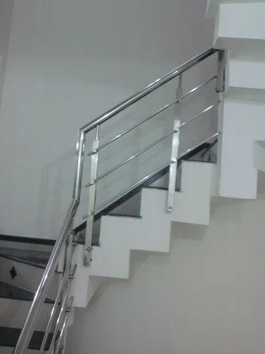 Stainless Steel Railing - Wall Handle Stair Railing ...