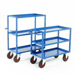 Mild Steel Tray Trolley