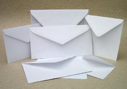 White Paper Envelope 80gsm (12