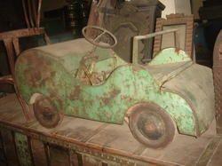 Vintage Rustic Decorative Car