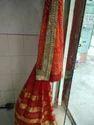 Pure Bandhani Saree