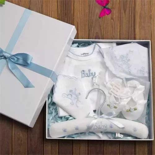 d28cdc20b7a1 Gift Set - Born Baby Dress Manufacturer from Tiruppur