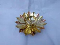 Brass copper lotus diya