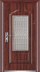 Wooden Safety Door