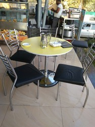 M.s.r Restaurant Chairs And SS Tables