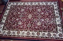 kasmiri meron Handloom Karmiri Carpet, Size: 5/7