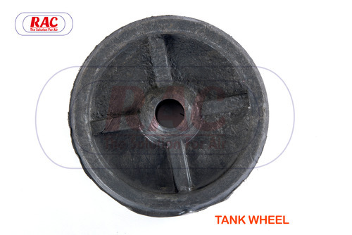 SS And MS Air Compressor Tank Wheel