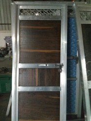 Aluminum Doors, Packaging Type: Paking In Tempo