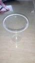 Transparent Disposable Glass