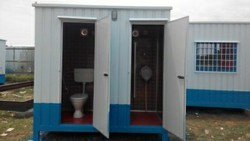 MS Portable Toilet Cabins