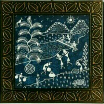Warli painting at rs 2700 piece warli paintings id 15508558888 warli painting thecheapjerseys Image collections