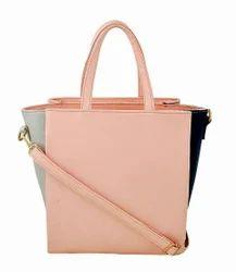 Ladies Multi Compartment Hand Bag in PU